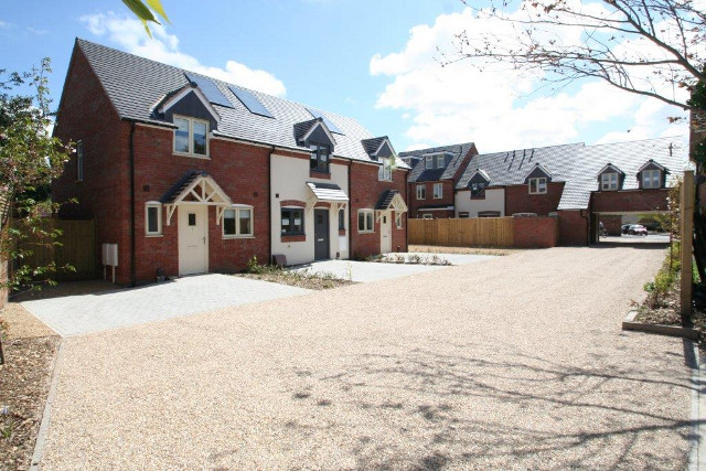 Transformation of a brown field site into a fantastic development of two and three bed houses